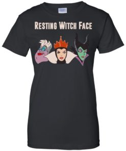 image 776 247x296px Maleficent Disney: Resting Witch Face Halloween T Shirts, Hoodies, Tank