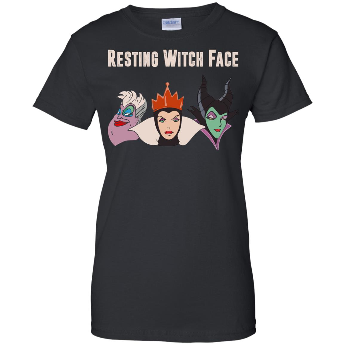 image 776px Maleficent Disney: Resting Witch Face Halloween T Shirts, Hoodies, Tank
