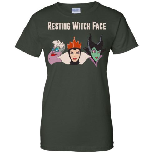 image 777 490x490px Maleficent Disney: Resting Witch Face Halloween T Shirts, Hoodies, Tank