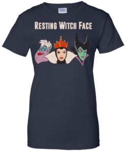 image 778 247x296px Maleficent Disney: Resting Witch Face Halloween T Shirts, Hoodies, Tank