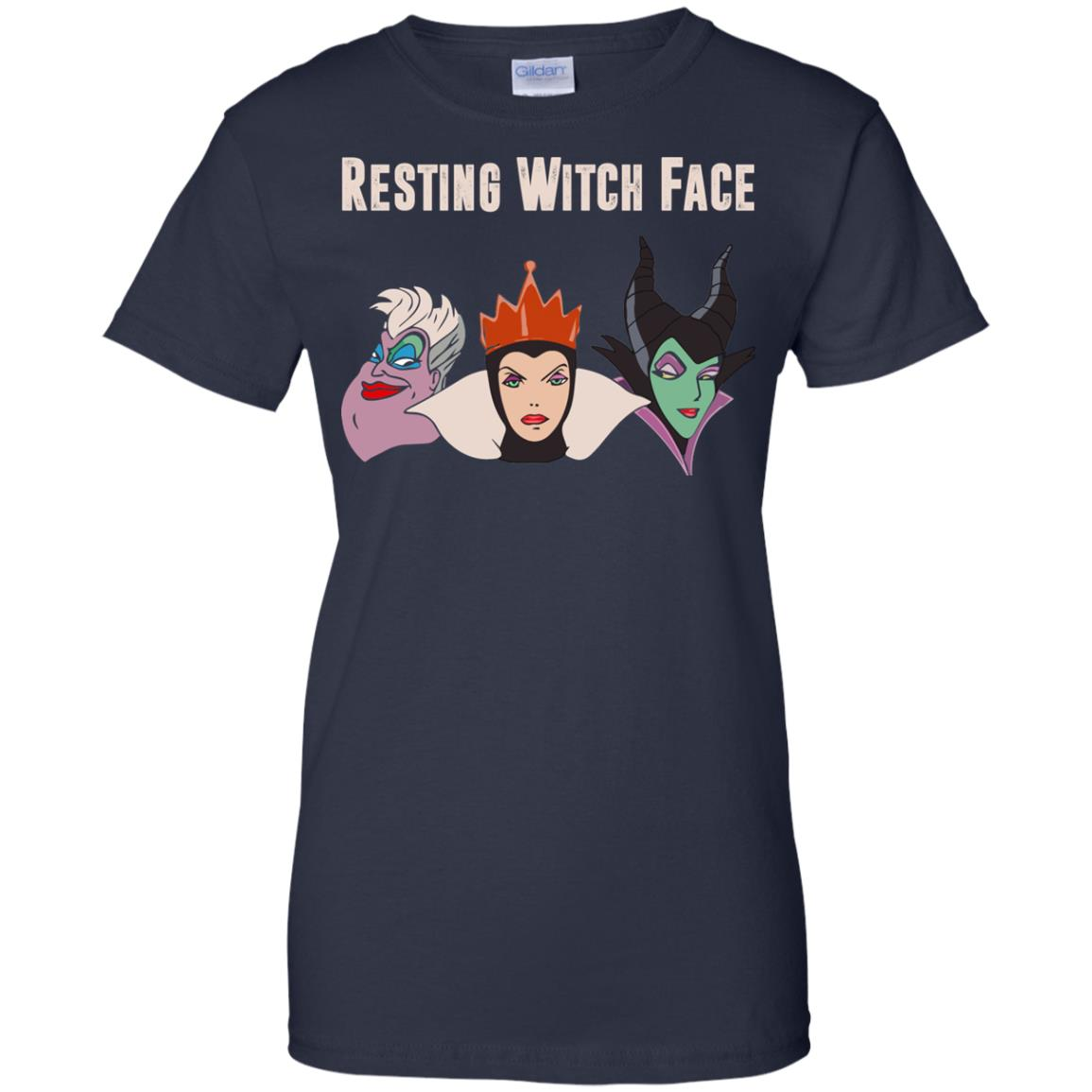 image 778px Maleficent Disney: Resting Witch Face Halloween T Shirts, Hoodies, Tank