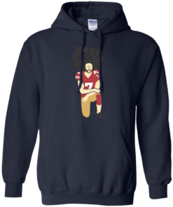 image 80 247x296px Colin Kaepernick Kneels on Monday Night Football T Shirts