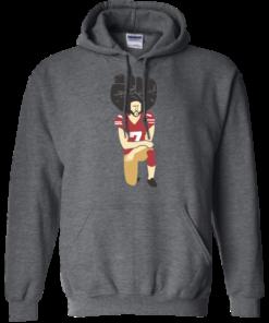 image 81 247x296px Colin Kaepernick Kneels on Monday Night Football T Shirts