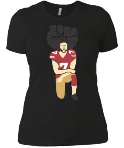 image 82 247x296px Colin Kaepernick Kneels on Monday Night Football T Shirts