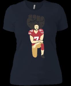 image 84 247x296px Colin Kaepernick Kneels on Monday Night Football T Shirts