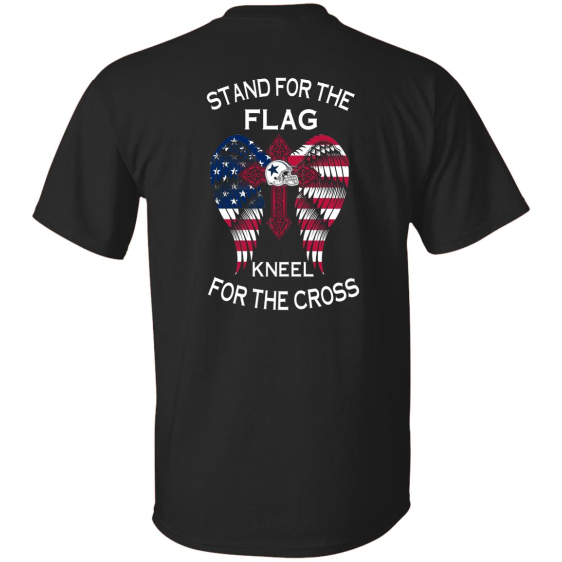 image 896px Dallas Cowboys Stand For The Flag Kneel For The Cross T Shirts, Hoodies, Sweater