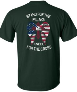 image 897 247x296px Dallas Cowboys Stand For The Flag Kneel For The Cross T Shirts, Hoodies, Sweater
