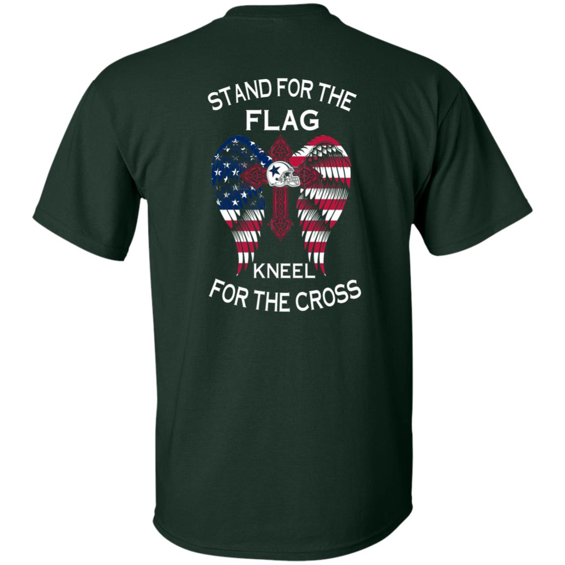 image 897px Dallas Cowboys Stand For The Flag Kneel For The Cross T Shirts, Hoodies, Sweater