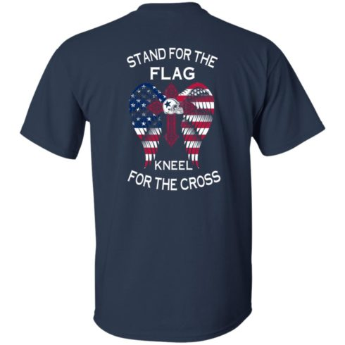 image 898 490x490px Dallas Cowboys Stand For The Flag Kneel For The Cross T Shirts, Hoodies, Sweater