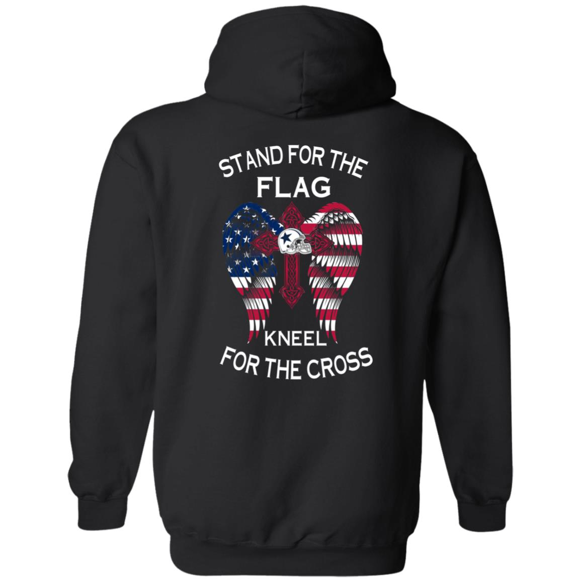image 899px Dallas Cowboys Stand For The Flag Kneel For The Cross T Shirts, Hoodies, Sweater
