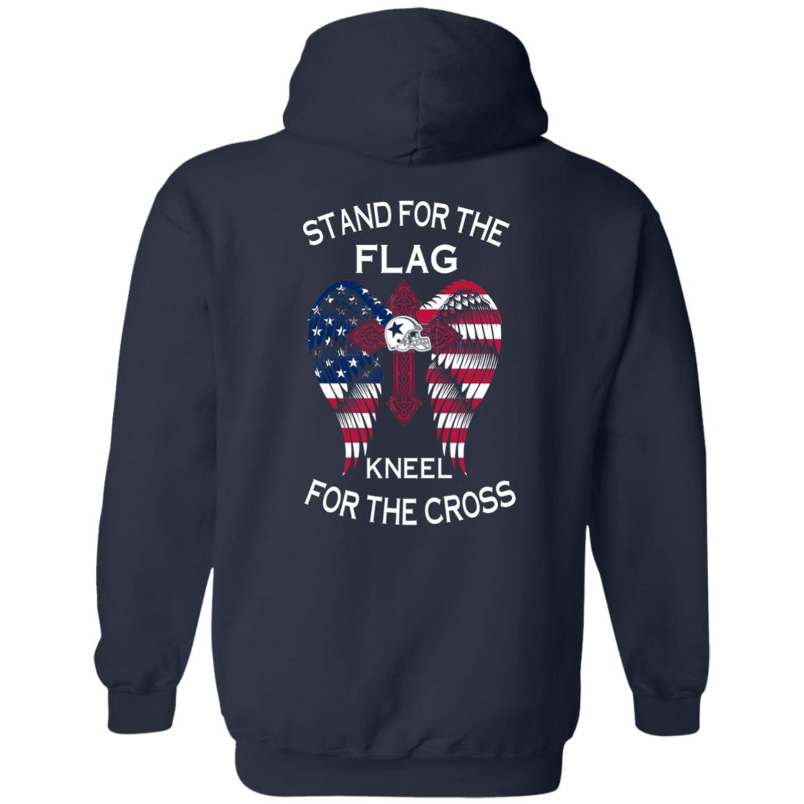 image 900px Dallas Cowboys Stand For The Flag Kneel For The Cross T Shirts, Hoodies, Sweater