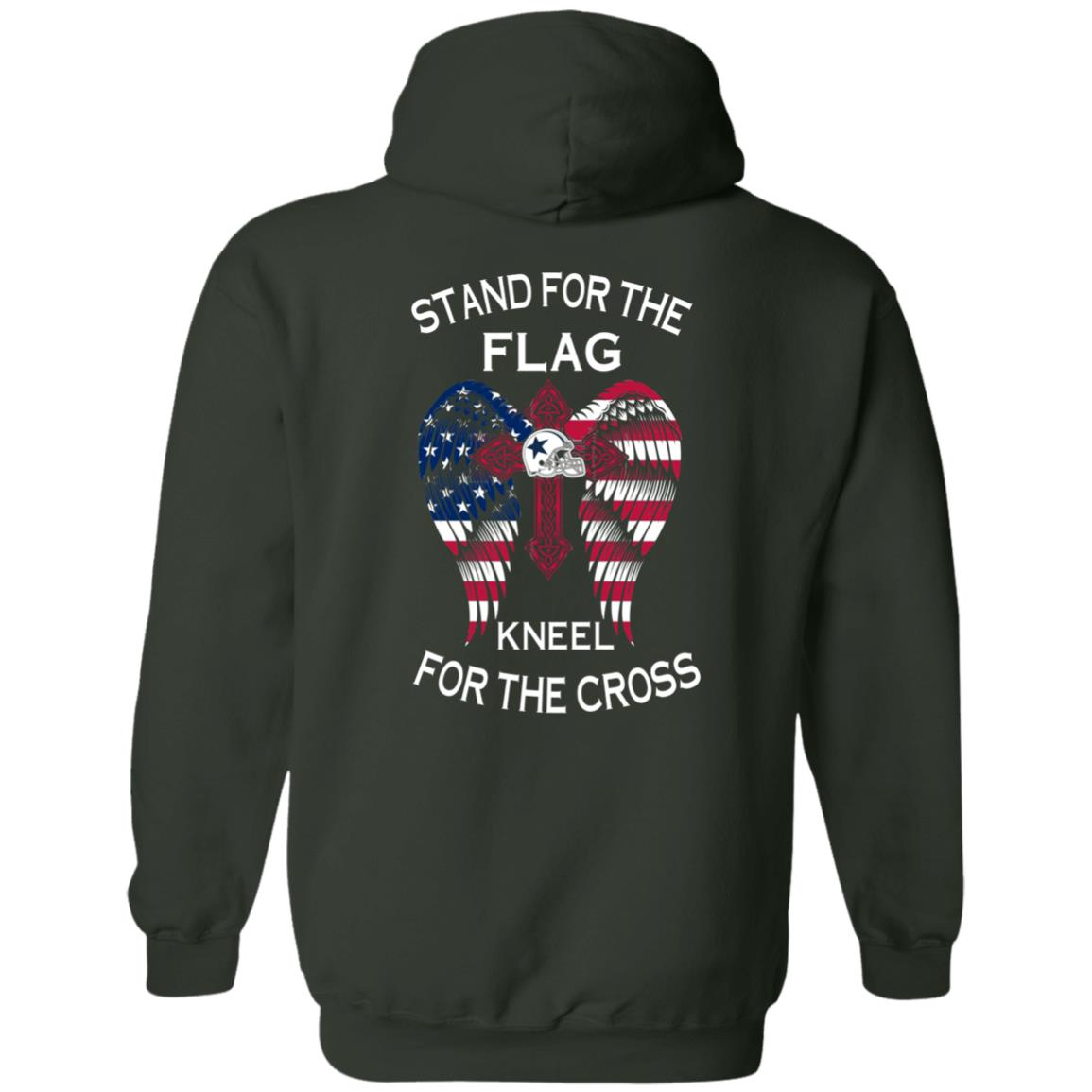 image 901px Dallas Cowboys Stand For The Flag Kneel For The Cross T Shirts, Hoodies, Sweater