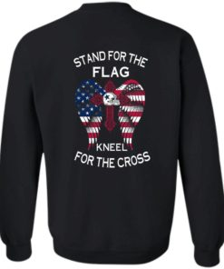image 902 247x296px Dallas Cowboys Stand For The Flag Kneel For The Cross T Shirts, Hoodies, Sweater