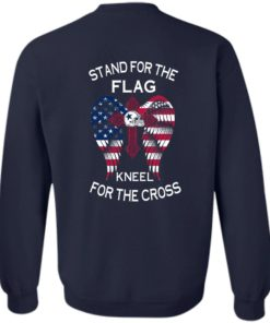 image 903 247x296px Dallas Cowboys Stand For The Flag Kneel For The Cross T Shirts, Hoodies, Sweater