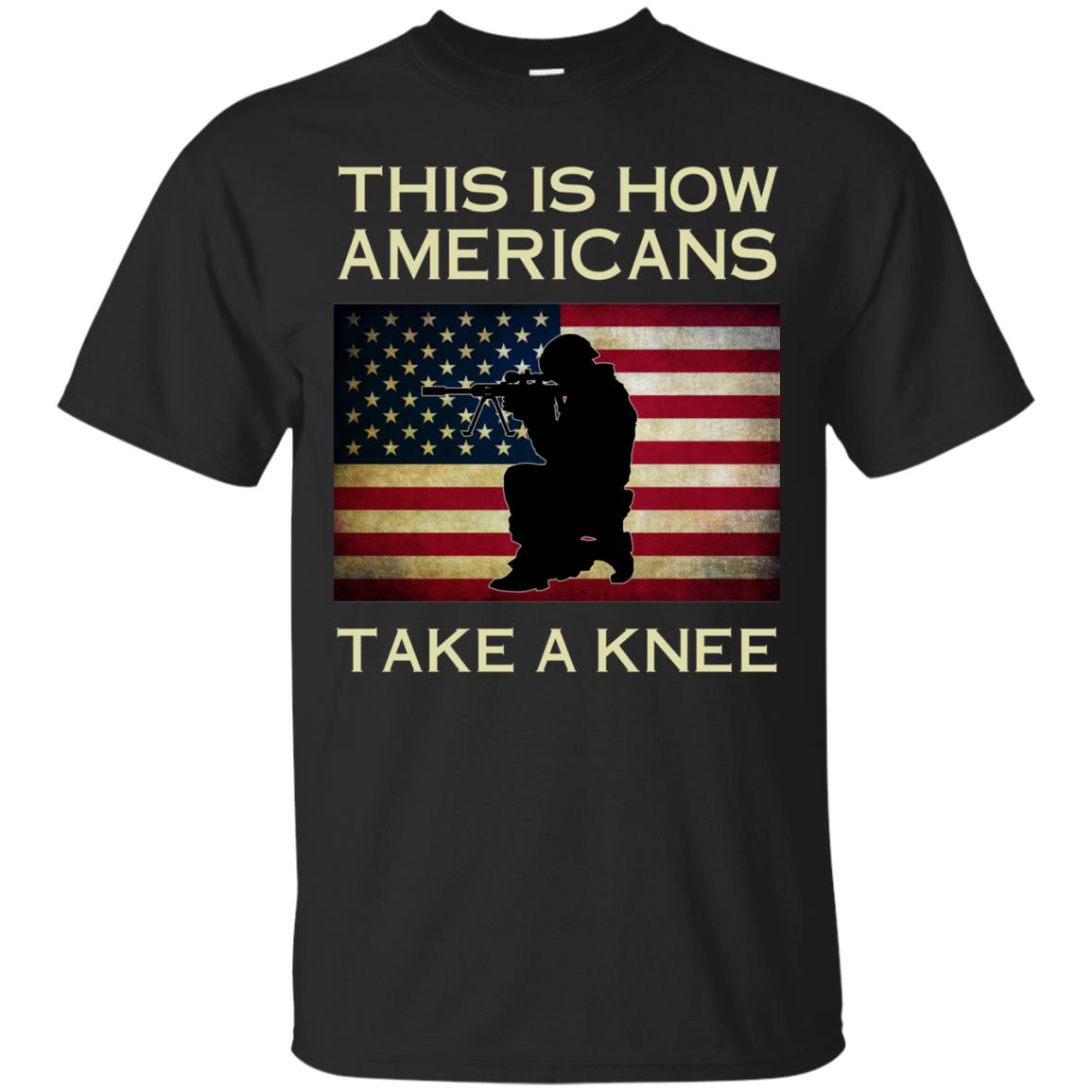 image 919px This Is How Americans Americans Take A Knee T Shirts, Hoodies, Tank
