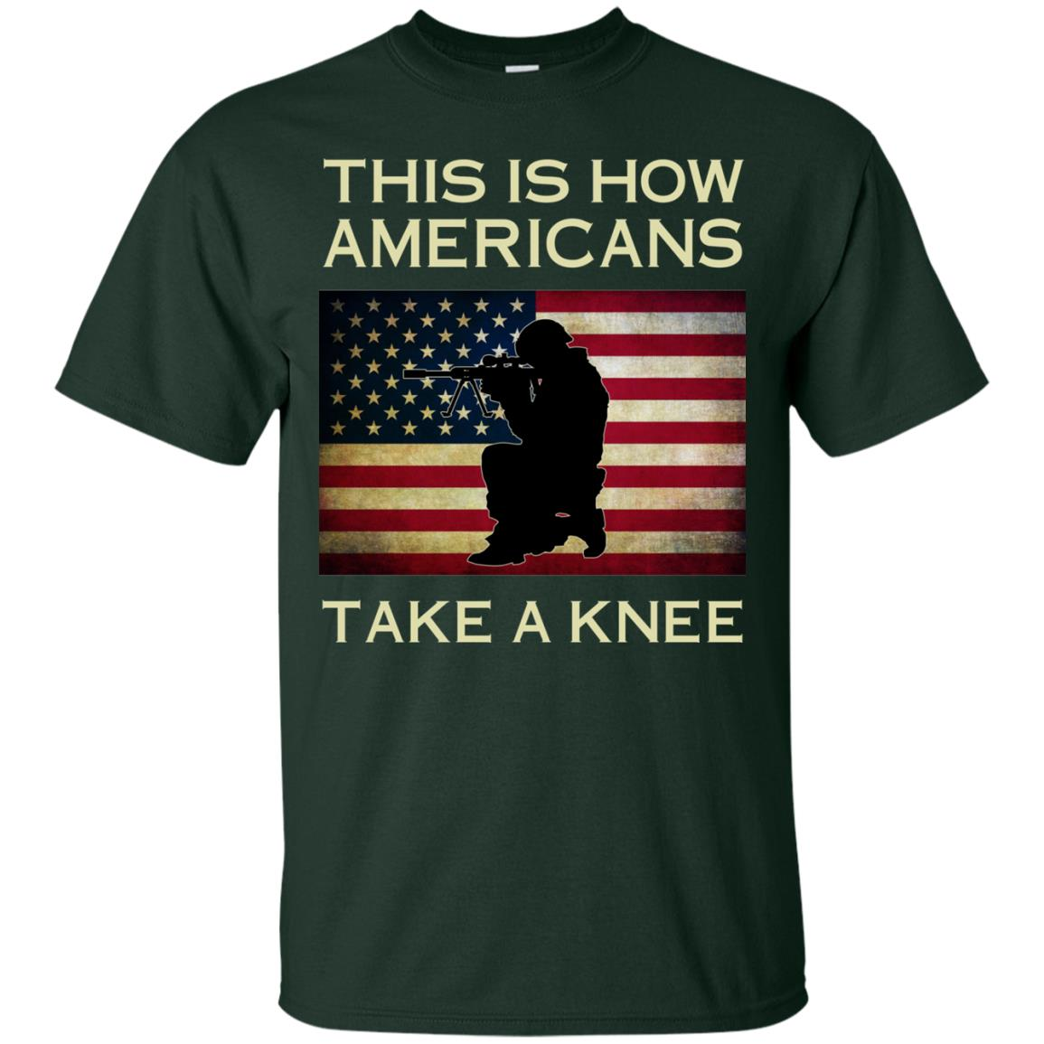 image 920px This Is How Americans Americans Take A Knee T Shirts, Hoodies, Tank