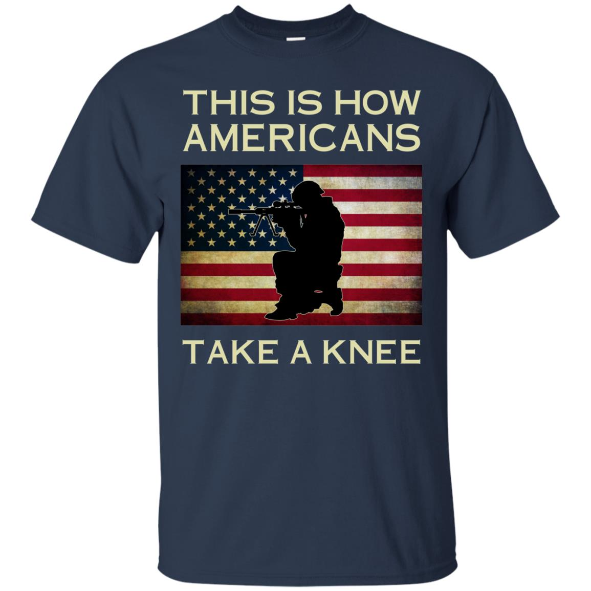 image 921px This Is How Americans Americans Take A Knee T Shirts, Hoodies, Tank