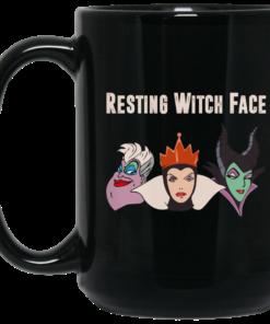 image 1 247x296px Resting Witch Face Disney Coffee Mug