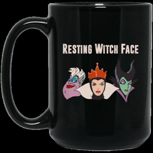 image 1 490x490px Resting Witch Face Disney Coffee Mug