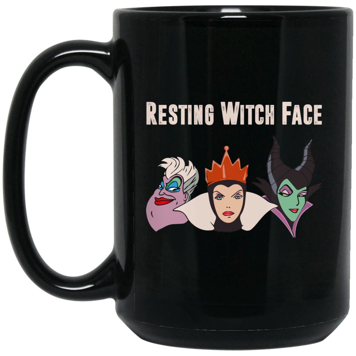 image 1px Resting Witch Face Disney Coffee Mug