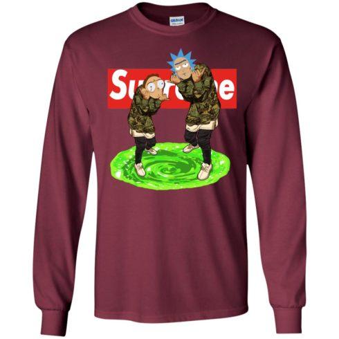 image 101 490x490px Rick and Morty Supreme T Shirts, Hoodies, Tank Top