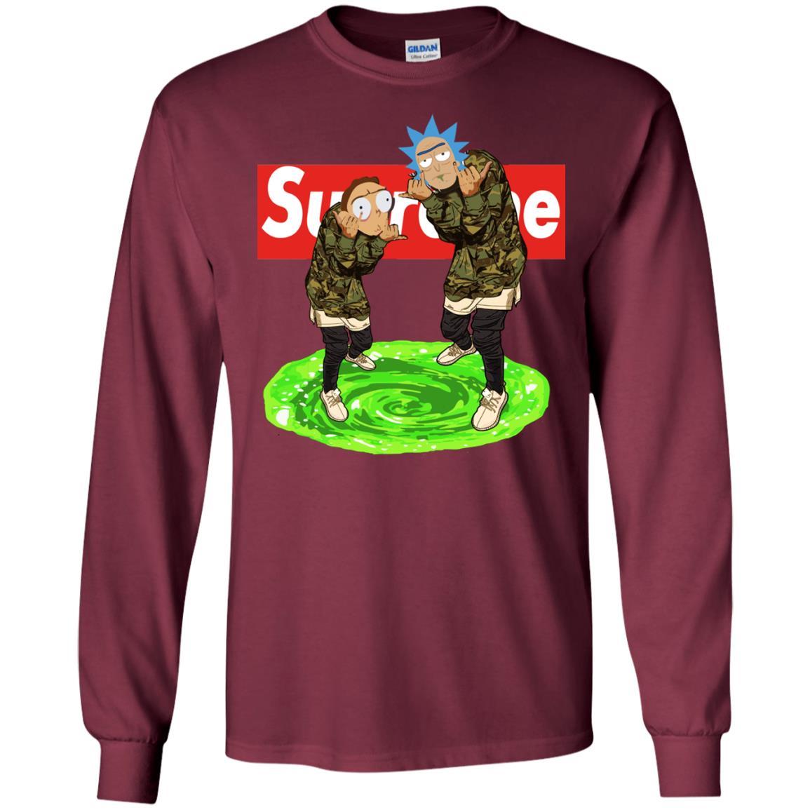 image 101px Rick and Morty Supreme T Shirts, Hoodies, Tank Top