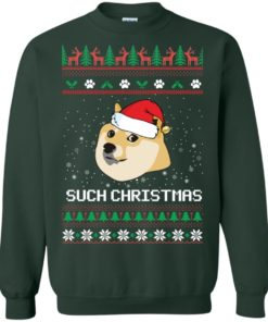 image 1026 247x296px Such Christmas Doge Ugly Christmas Sweater