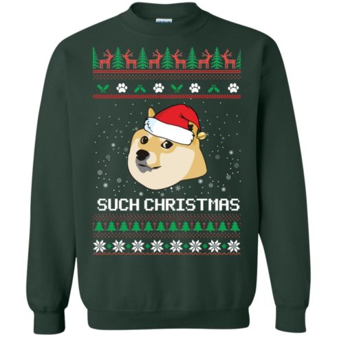 image 1026 490x490px Such Christmas Doge Ugly Christmas Sweater