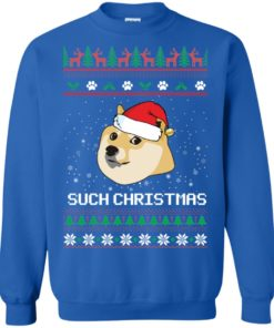 image 1027 247x296px Such Christmas Doge Ugly Christmas Sweater