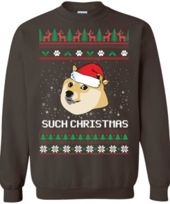 image 1028 247x296px Such Christmas Doge Ugly Christmas Sweater