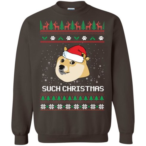 image 1028 490x490px Such Christmas Doge Ugly Christmas Sweater
