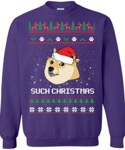 image 1029 247x296px Such Christmas Doge Ugly Christmas Sweater