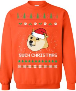 image 1030 247x296px Such Christmas Doge Ugly Christmas Sweater