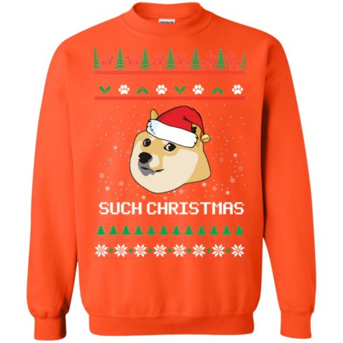 image 1030 490x490px Such Christmas Doge Ugly Christmas Sweater