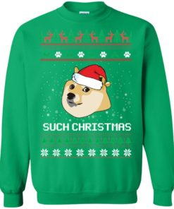 image 1031 247x296px Such Christmas Doge Ugly Christmas Sweater