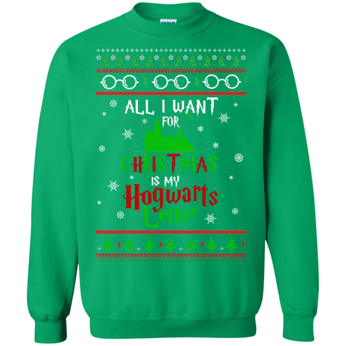 image 1042px Harry Potter Sweater: All I Want Is My Hogwarts Letter Ugly Christmas