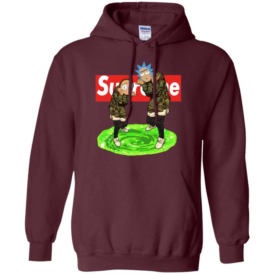 image 105px Rick and Morty Supreme T Shirts, Hoodies, Tank Top