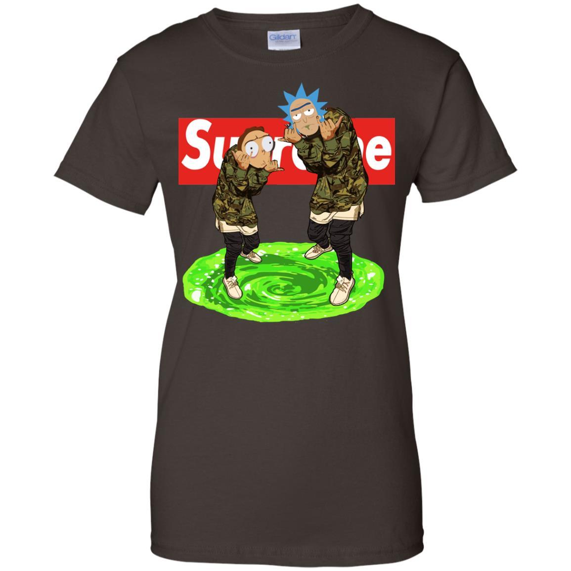 image 107px Rick and Morty Supreme T Shirts, Hoodies, Tank Top