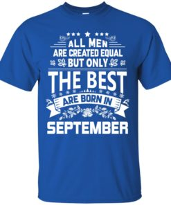image 1092 247x296px Jason Statham: All Men Are Created Equal The Best Are Born In September T Shirts