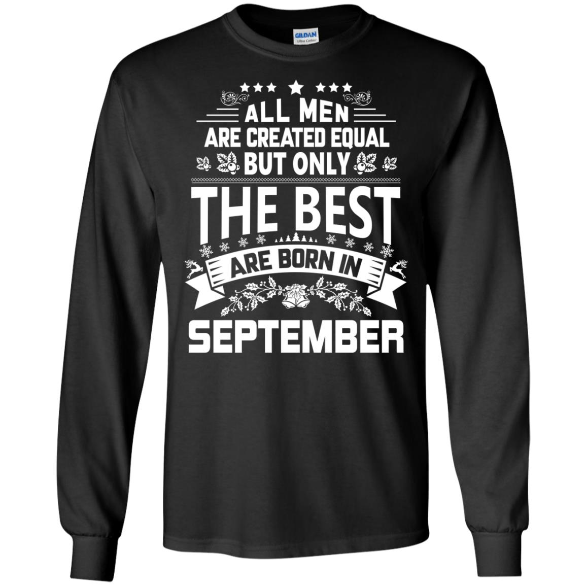 image 1094px Jason Statham: All Men Are Created Equal The Best Are Born In September T Shirts