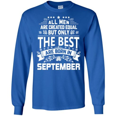 image 1096 490x490px Jason Statham: All Men Are Created Equal The Best Are Born In September T Shirts