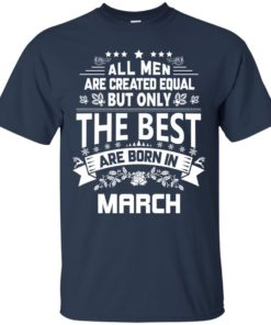 image 1126 247x296px Jason Statham: All Men Are Created Equal The Best Are Born In March T Shirts