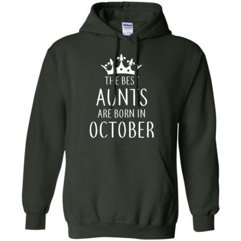 image 114 490x490px The Best Aunts Are Born In October T Shirts, Hoodies, Tank Top