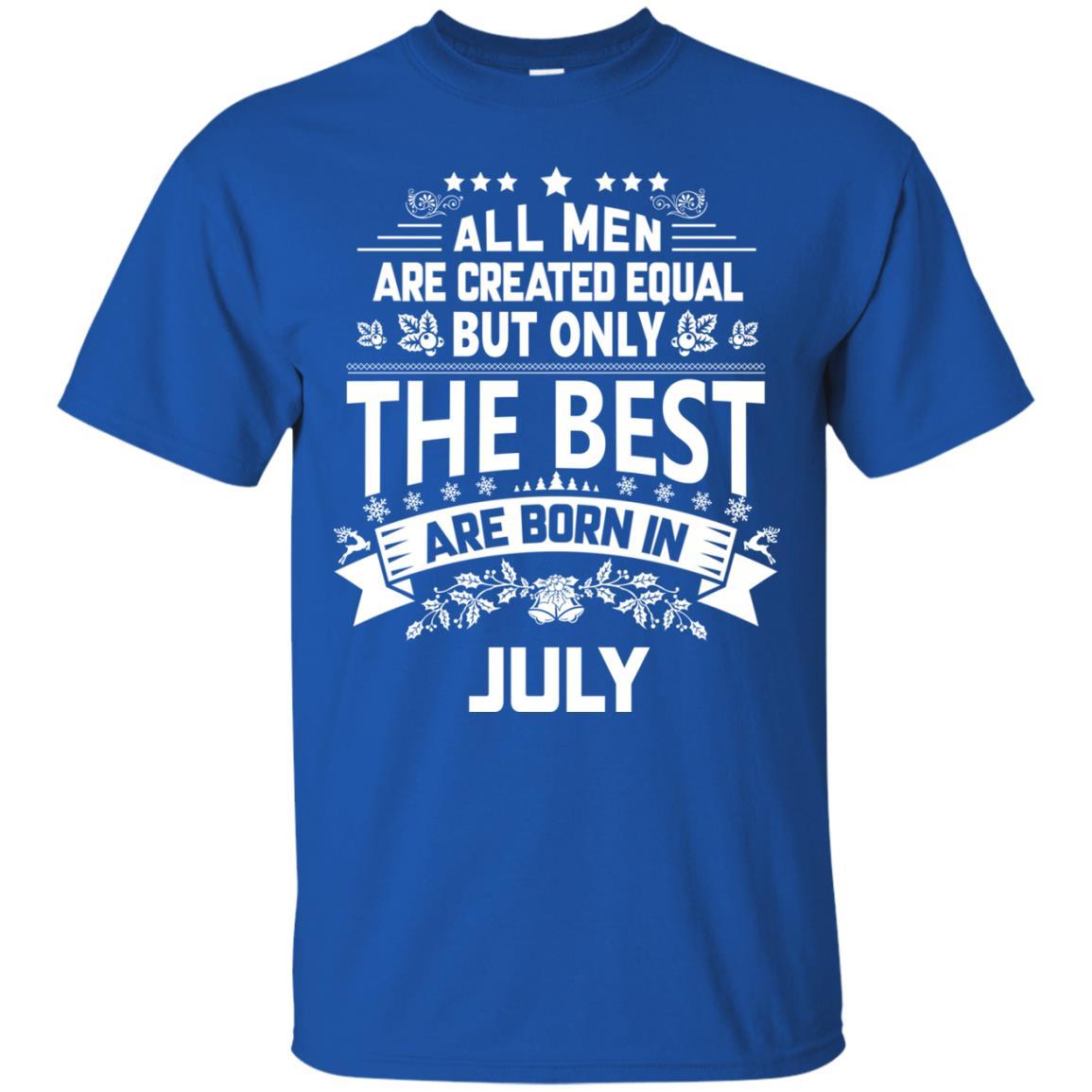 image 1158px Jason Statham: All Men Are Created Equal The Best Are Born In July T Shirts