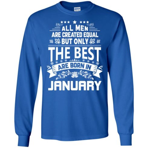 image 1173 490x490px Jason Statham: All Men Are Created Equal The Best Are Born In January T Shirts