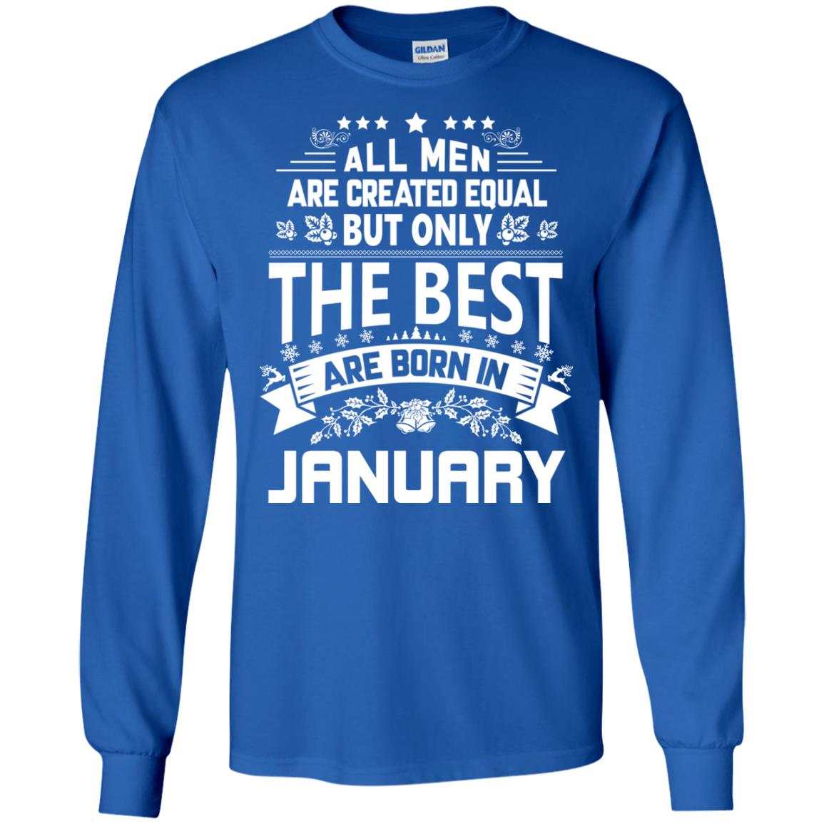 image 1173px Jason Statham: All Men Are Created Equal The Best Are Born In January T Shirts