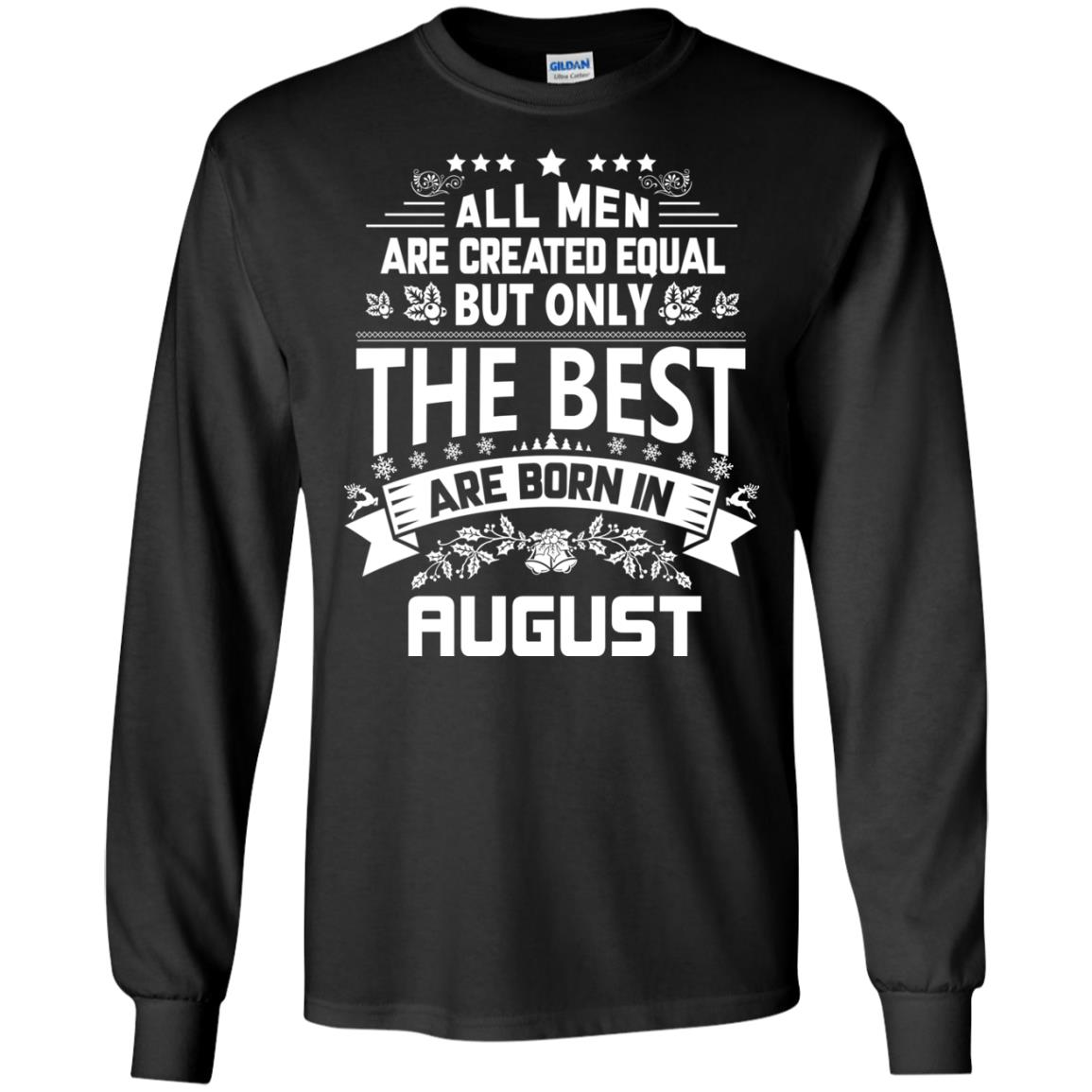 image 1215px Jason Statham: All Men Are Created Equal The Best Are Born In August T Shirts