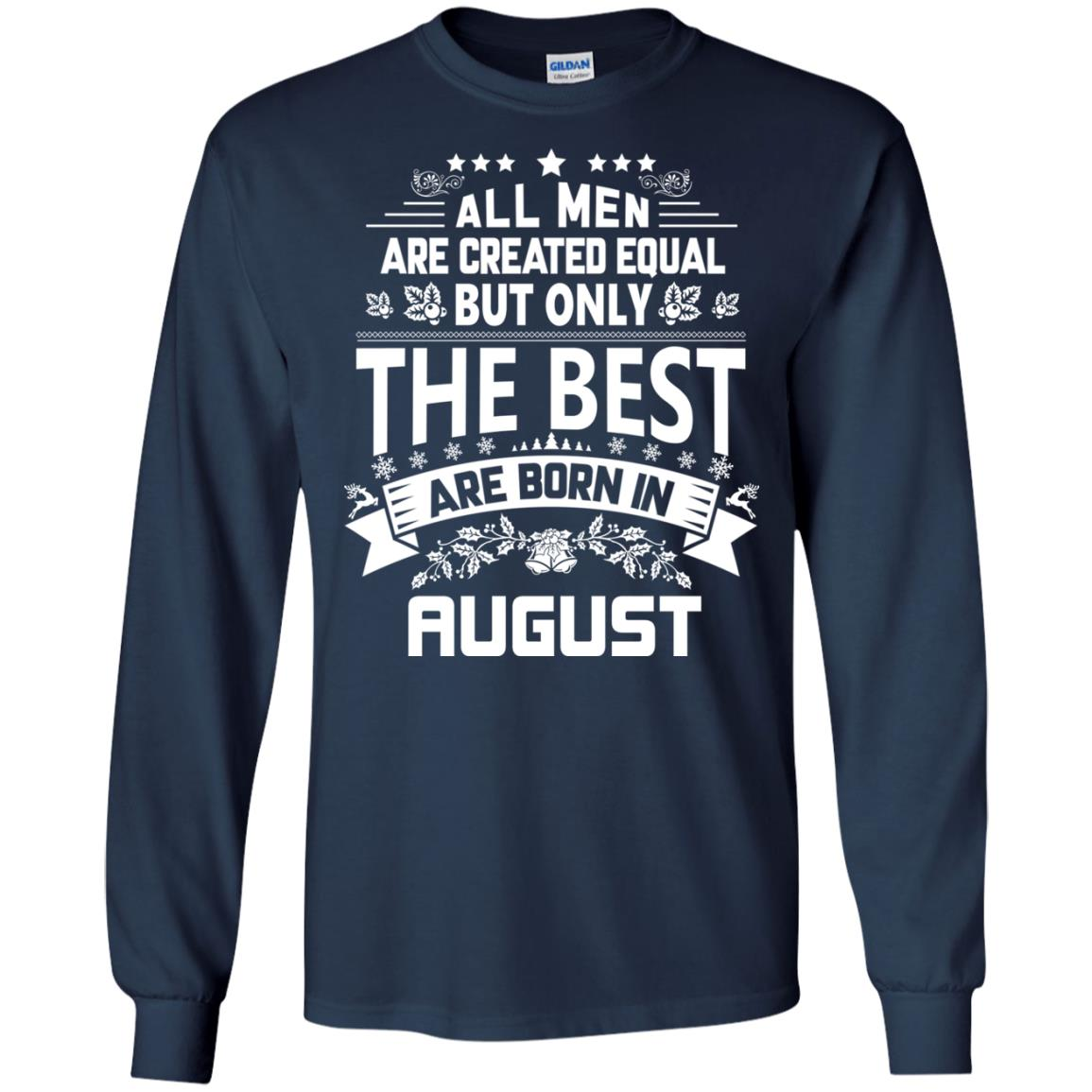 image 1216px Jason Statham: All Men Are Created Equal The Best Are Born In August T Shirts