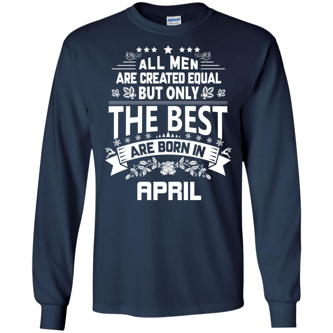 image 1228px Jason Statham All Men Are Created Equal The Best Are Born In April T Shirts
