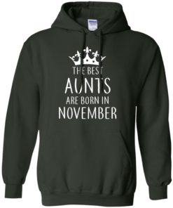 image 125 247x296px The Best Aunts Are Born In November T Shirts, Hoodies, Tank
